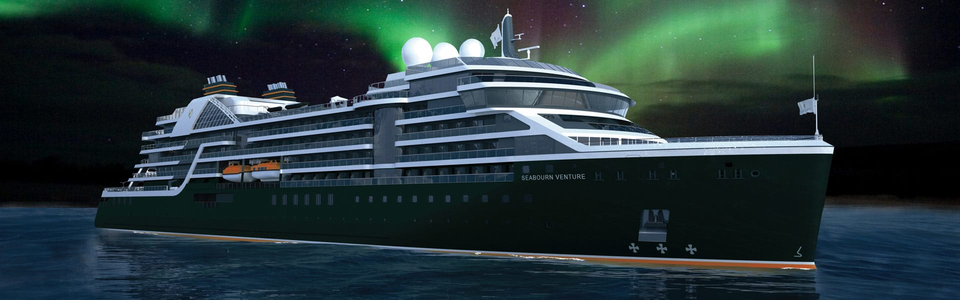 Seabourn Extraordinary Expedition with Northern Lights