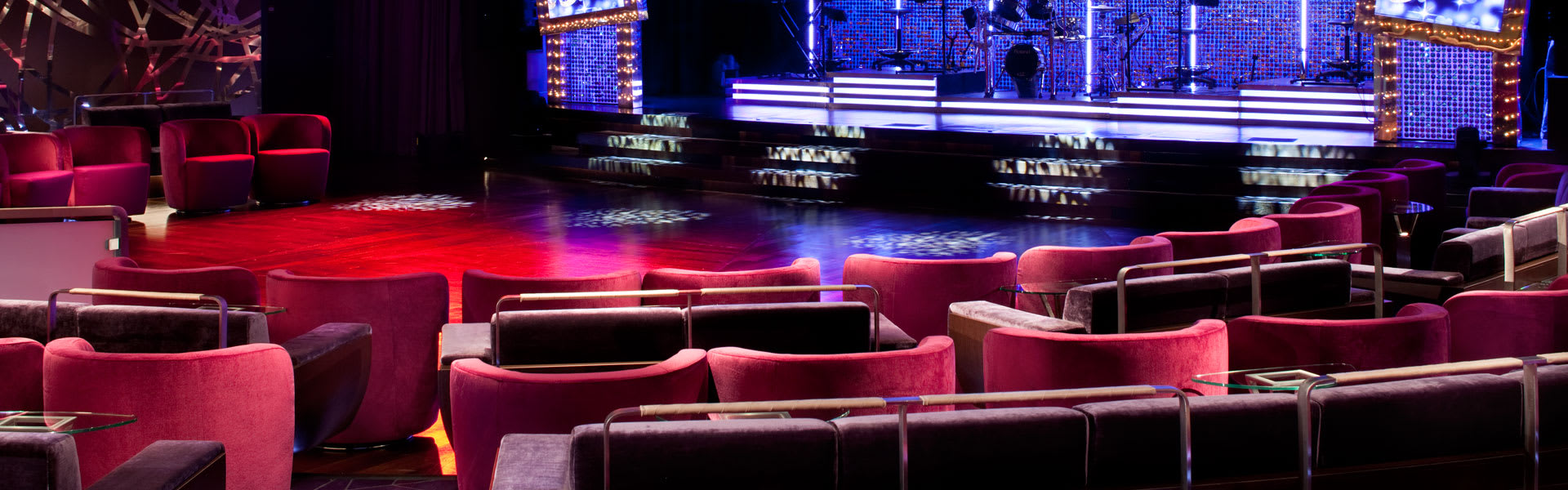 Seabourn Conversations Onboard Theater