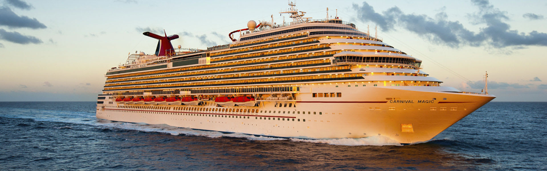 Carnival Magic Cruise Ship Aerial