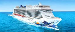 Norwegian Escape Aerial - Courtesy of Norwegian Cruise Line