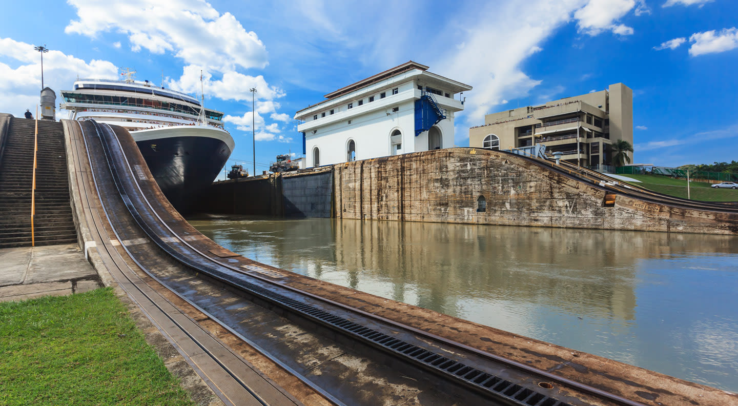 Is an Eastbound or Westbound Panama Canal Cruise better through these locks?