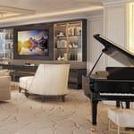 Regent Suite living room