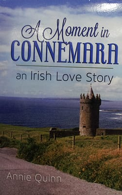 Cover of A Moment in Connemara an Irish Love Story