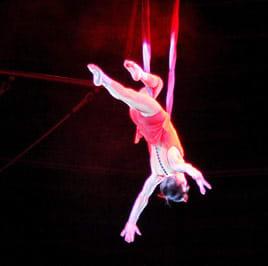 Female acrobat