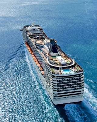 MSC Divina. Photo courtesy of MSC Cruises.