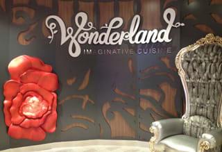 Wonderland Imaginative Cuisine aboard Quantum of the Seas