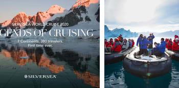 Silversea 2020 World Cruise Ships