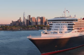 Queen Mary 2 - Courtesy of Cunard