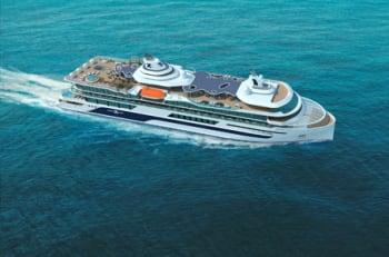 Celebrity Flora at sea