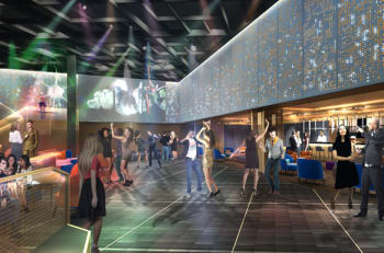 Rendering photo of The Club onboard Celebrity Edge