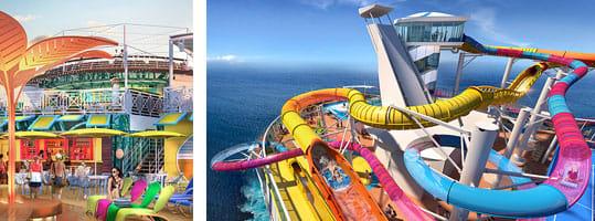 Renderings for Navigator of the Seas - Courtesy of Royal Caribbean