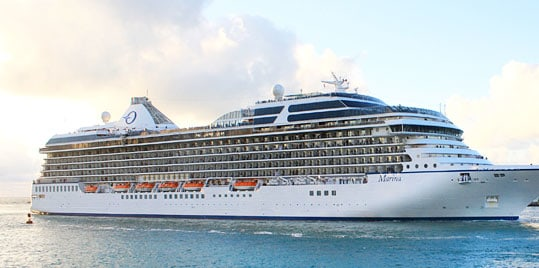 Oceania Marina - Courtesy of Oceania Cruises