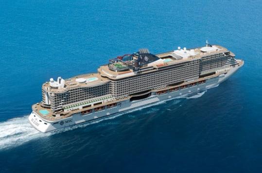 The MSC Seaview will debut in June 2018.