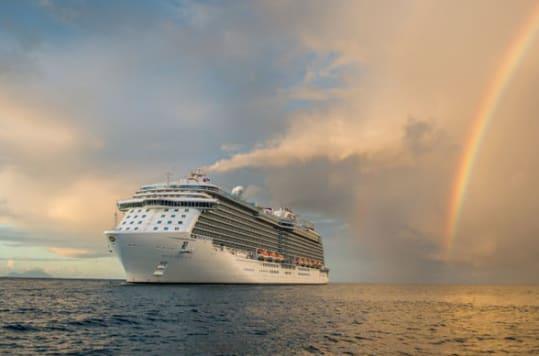 Regal Princess is a sister ship to Sky Princess.