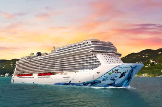 The Cruise Norwegian app will be available on the Norwegian Bliss when she debuts in summer 2018.