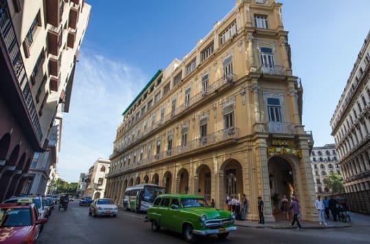 Hotel Plaza - Havana, Cuba