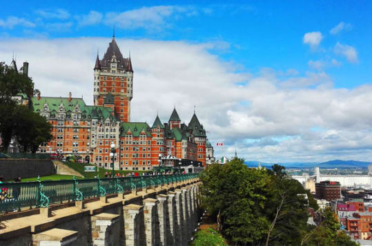 Quebec City is the home of Cruise Month.