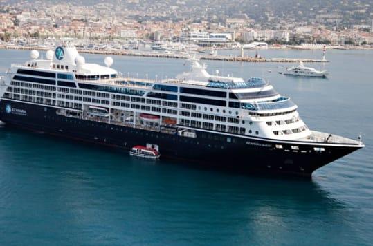 All three Azamara Club Cruises ships, Azamara Quest, Azamara Journey, and Azamara Pursuit, will debut the new onboard entertainment in 2018.