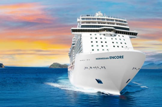 Norwegian Cruise Line's newest ship, Norwegian Encore, will debut in fall 2019.