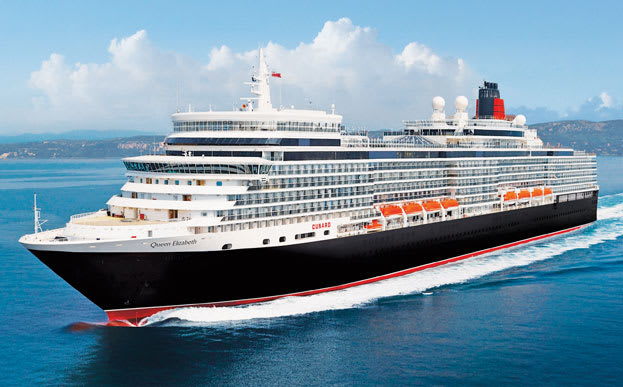 Cunard's Queen Elizabeth will sail to Alaska for the first time in 2019.