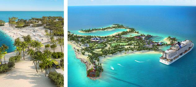 Ocean Cay - Courtesy of MSC Cruises