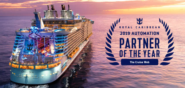 The Cruise Web is Royal Caribbean 2019 Automation Partner of the Year