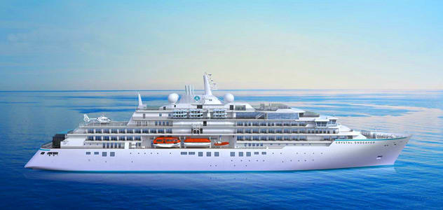 Crystal Endeavor Expedition Ship