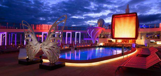 Resort Pool aboard Celebrity Apex