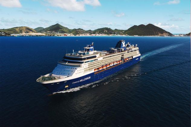 Celebrity Cruises returns to St. Maarten with Celebrity Millennium