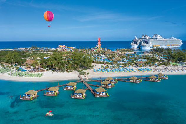 Royal Caribbean Cruises resume with calls to Perfect Day at CocoCay