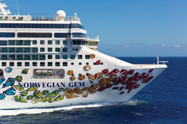 Norwegian cruises resume with Norwegian Gem