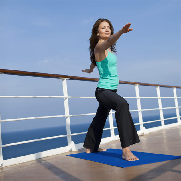 Yoga Aboard Regent Seven Seas Cruises