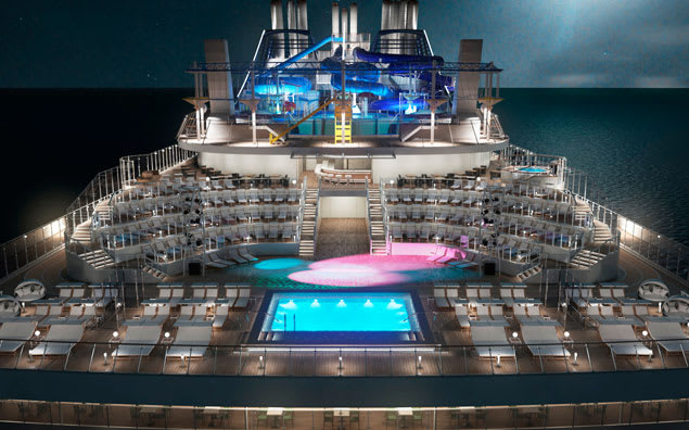 MSC Meraviglia - Top Deck