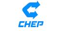 Logo von Chep, dem Paletten Partner von DepotCity