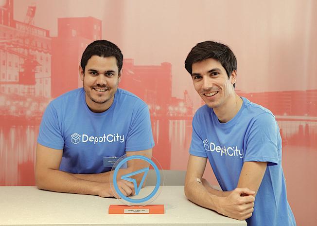 DepotCity Gründerteam; Tobias Heyer und Philipp Schatz