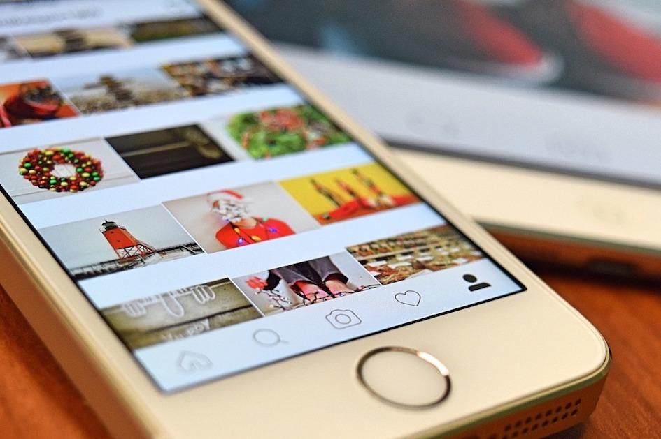 Instagram Shopping mit Zitat von Steve Jobs dargestellt