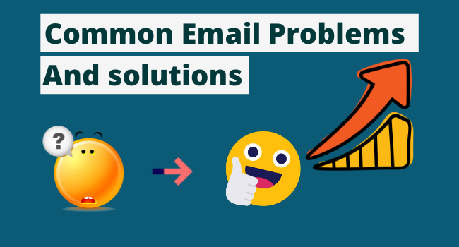 common email problems and solutions.