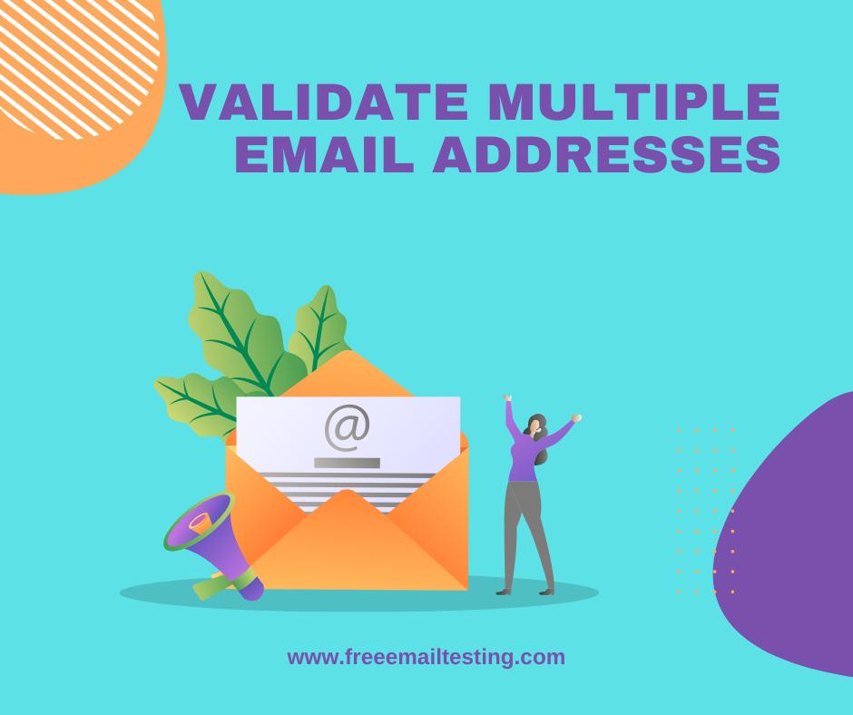 Email Address Validation Test Cases