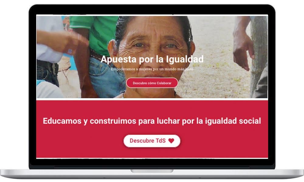 Web improvement for Taller de Solidaridad ngo