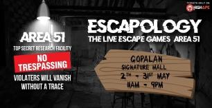 Escapology – The Live Escape Games (Area 51)