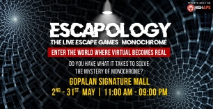 Escapology – The Live Escape Games (Monochrome)