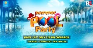 Summer Swim Break Pool Party