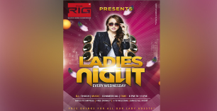 Wednesday Ladies Night Ft DJ Thosh