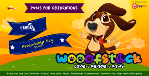 Wooofstock : Friendship Day Special - The Biggest Doggo Fest in Bangalore