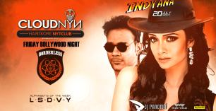 Friday Bollywood Night at Cloudnyn with DJ Paroma