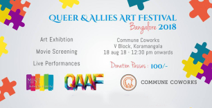 Queer and Allies Art Festival 2018 - Bangalore