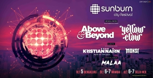 Sunburn City Festival in Bangalore ft. Above & Beyond, Yellow Claw