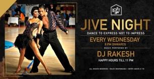Jive Night Featuring DJ Rakesh