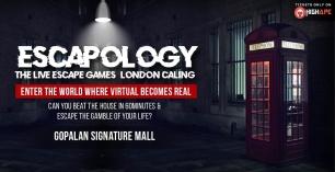 Escapology – (London Calling) The Live Escape Games