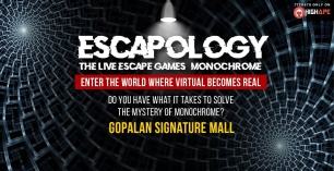 Escapology – (Monochrome) The Live Escape Games